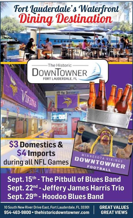 Historic Downtowner Saloon - Voted #1 MN Vikings Bar in the nation