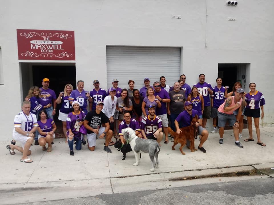 south florida vikings fans - largest Vikings fan club outside of Minnesota